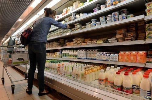 Nga cấm nhập khẩu nông sản từ Mỹ và châu Âu - 1