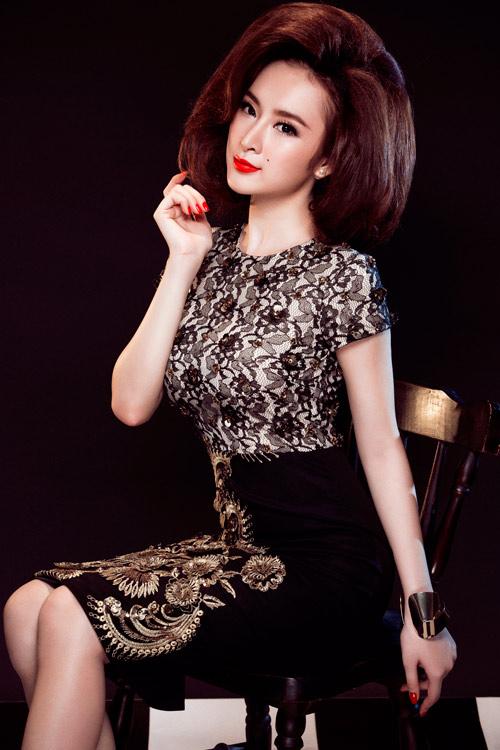 Angela Phương Trinh quyến rũ mê hồn với váy ren - 6
