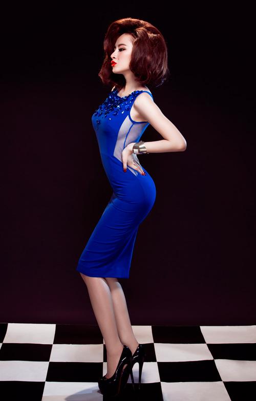 Angela Phương Trinh quyến rũ mê hồn với váy ren - 2
