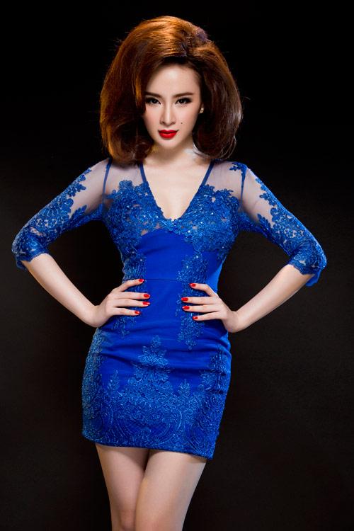 Angela Phương Trinh quyến rũ mê hồn với váy ren - 4