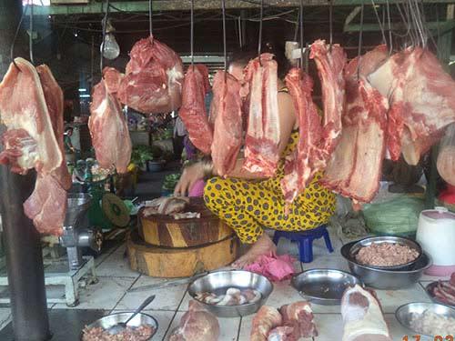 Thịt heo tồn dư kháng sinh vượt ngưỡng - 1