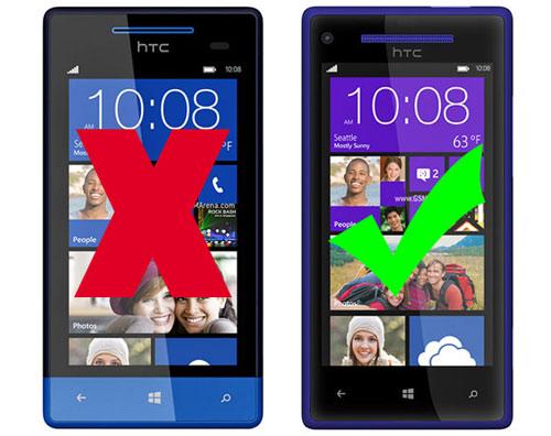HTC 8S không được lên Windows Phone 8.1 GDR1 - 1