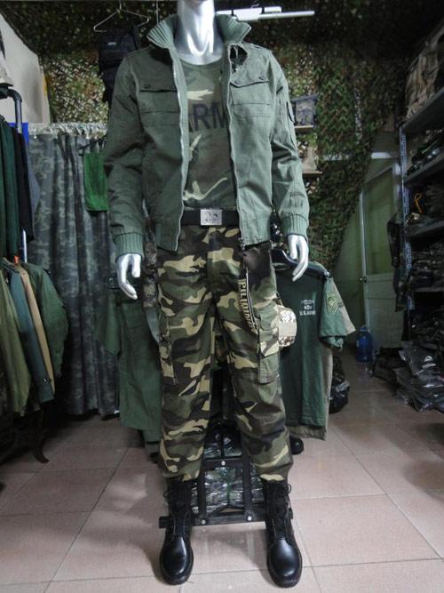 Quần áo lính: Thú chơi lạ của người Hà thành - 2