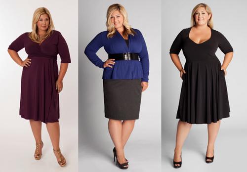 Phụ nữ béo mặc đẹp bất chấp cân nặng - 3