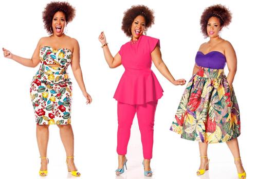 Phụ nữ béo mặc đẹp bất chấp cân nặng - 4