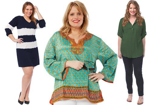Phụ nữ béo mặc đẹp bất chấp cân nặng - 5