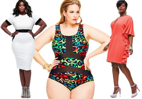 Phụ nữ béo mặc đẹp bất chấp cân nặng - 6