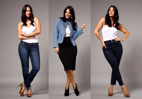 Phụ nữ béo mặc đẹp bất chấp cân nặng - 7