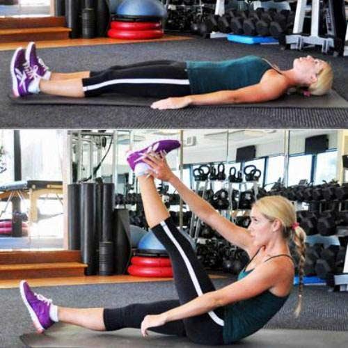 Tập thể dục 10 phút cho vòng eo thon gọn - 2