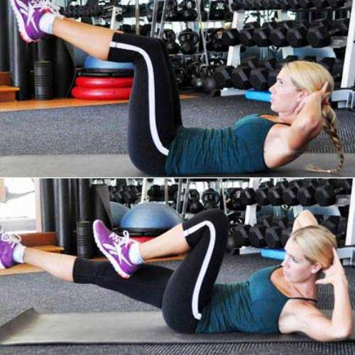 Tập thể dục 10 phút cho vòng eo thon gọn - 5