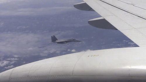 F-15 Nhật đuổi theo máy bay TQ trên biển Hoa Đông - 1