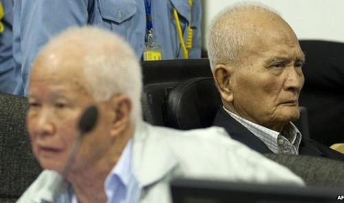Hai trùm diệt chủng Khmer Đỏ nhận án chung thân - 1