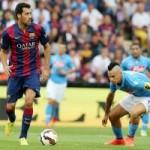 Bóng đá - Barca - Napoli: Trái đắng phút 80