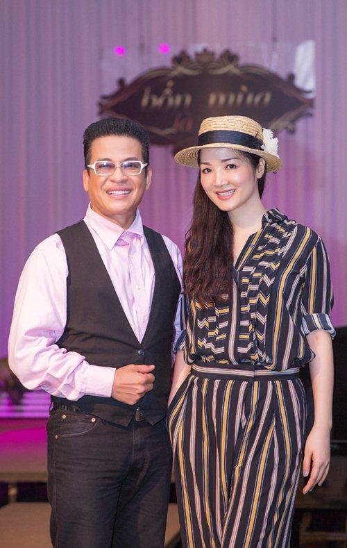 Giáng My nhí nhảnh bên MC Thanh Bạch - 2