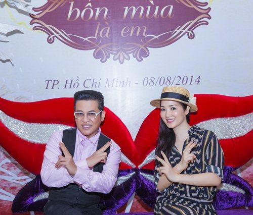 Giáng My nhí nhảnh bên MC Thanh Bạch - 4