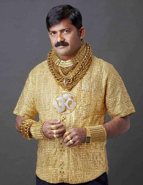 3 bộ trang phục vàng ròng gây sửng sốt châu Á - 6