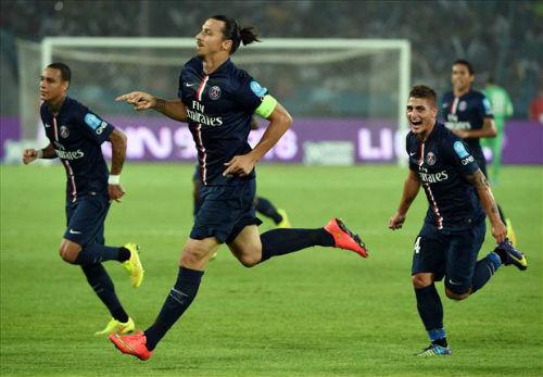Reims - PSG: Ibra cũng đành bó tay - 1
