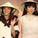 Ca nhạc - MTV - 2ne1 thích thú với nón lá Việt Nam