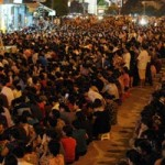 """HN:  """" Biển người """"  dự lễ Vu lan ở chùa Phúc Khánh"""