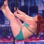 """Ca nhạc - MTV - Kinh ngạc màn múa cột của vũ công """"béo nhất thế giới"""""""