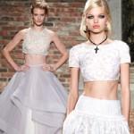 Thời trang - Cô dâu gợi cảm với áo cưới hở eo