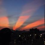 Tin tức trong ngày - Xuất hiện tia sáng kì lạ trên bầu trời TP.HCM
