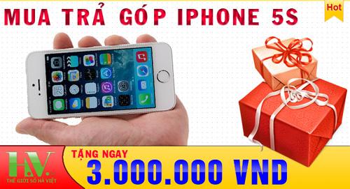 10 phut nhan ngay chiec iPhone 5S loai 16Gb chi voi 400 000d