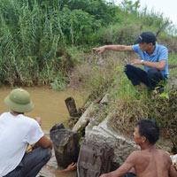 Hộp sọ tìm thấy trên sông Hồng không phải của chị Huyền