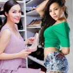 """Thời trang - 4 sao Việt sở hữu tủ giầy siêu """"khủng"""""""