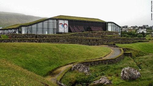 Những ngôi nhà mái cỏ độc đáo ở quần đảo Faroe - 9
