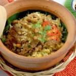 Ẩm thực - Cơm chiên lá chuối ngon miệng, dễ làm