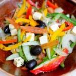 Ẩm thực - Đổi vị với salad chay vùng Địa Trung Hải