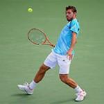 Thể thao - Hot shot: Wawrinka tung cú trái một tay như Federer