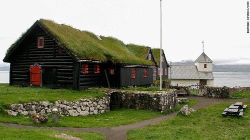 Những ngôi nhà mái cỏ độc đáo ở quần đảo Faroe - 6