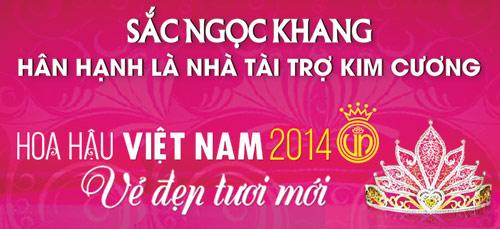 Sắc Ngọc Khang cùng Hoa hậu VN 2014: Tôn vinh vẻ đẹp Việt - 3