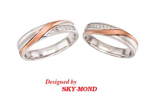 Nhẫn cưới Sky-Mond khuyến mãi sốc tại triển lãm cưới - 1