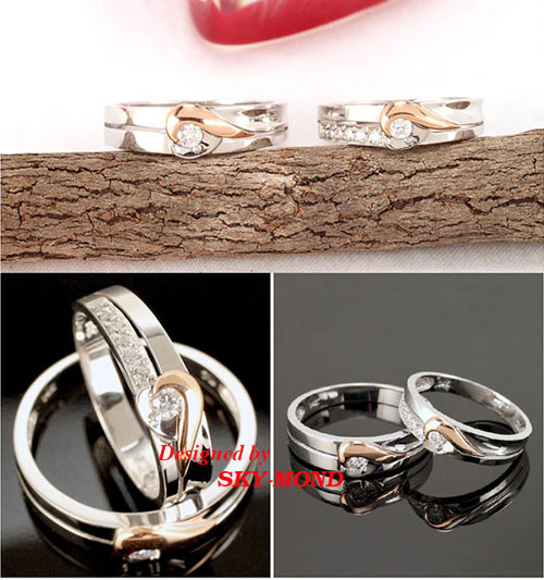 Nhẫn cưới Sky-Mond khuyến mãi sốc tại triển lãm cưới - 3