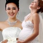 """Thời trang - Váy cưới đẹp cho cô dâu """"ăn cơm trước kẻng"""""""