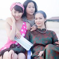 """3 """"mỹ nhân Sài Thành"""" đội nắng 40 độ quay phim"""