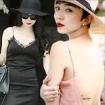 """Thời trang - Sao Việt gây tranh cãi với """"cơn sốt"""" váy ngủ, dép lê"""