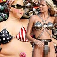 Những bộ bikini gây sốc vì quá kỳ quặc