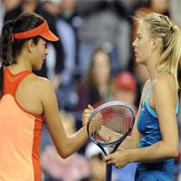 Ivanovic - Sharapova: Cống hiến hết mình (BK Cincinnati)