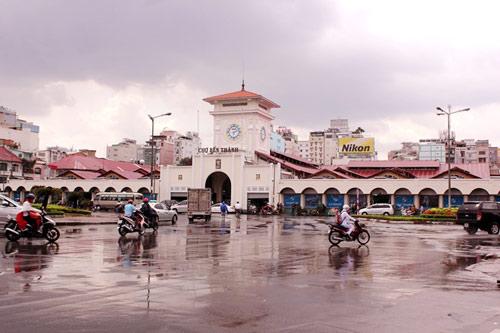 """Những ngôi chợ """"già"""" nổi tiếng nhất Sài Gòn - 1"""