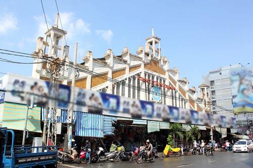 """Những ngôi chợ """"già"""" nổi tiếng nhất Sài Gòn - 13"""
