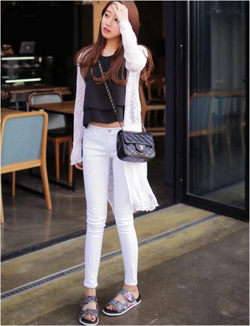 Mặc áo khoác dáng dài chuẩn như fashionista - 11