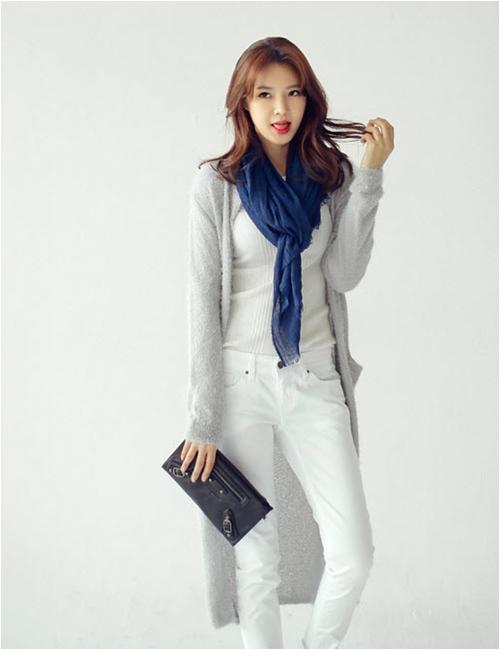 Mặc áo khoác dáng dài chuẩn như fashionista - 9