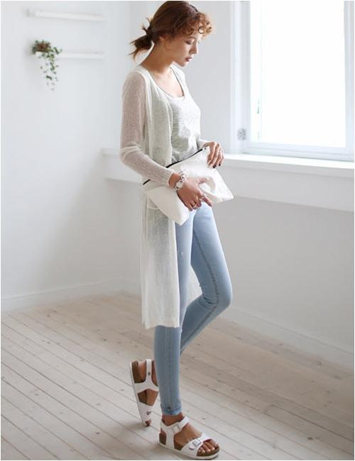 Mặc áo khoác dáng dài chuẩn như fashionista - 12
