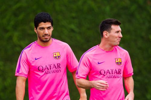 """Barca: Messi vẫn là số 1, không phải """"phục vụ"""" Suarez - 1"""
