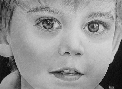 Chàng trai 9X với biệt tài vẽ tranh truyền thần - 8