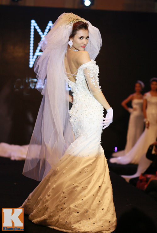 Những mẫu váy cưới mê hoặc gái trẻ - 11